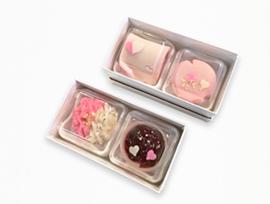 2月1日(金)はバレンタインデー、限定上生菓子は1日(金)〜14日(木)まで販売