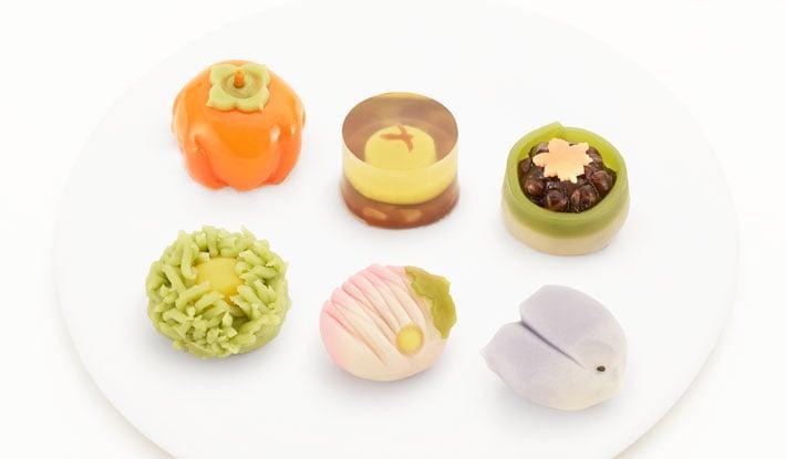 上生菓子|季節の和菓子・秋|神楽坂 和菓子|五十鈴(いすず)