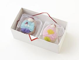 雛祭り限定上生菓子 2月17日(月)より店頭に並びます
