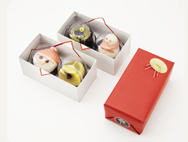 クリスマス限定上生菓子 12月16日(月)より店頭に並びます