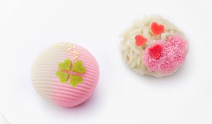 ホワイトデー限定上生菓子 3月8日(木)から3月14日(水)まで店頭に並びます