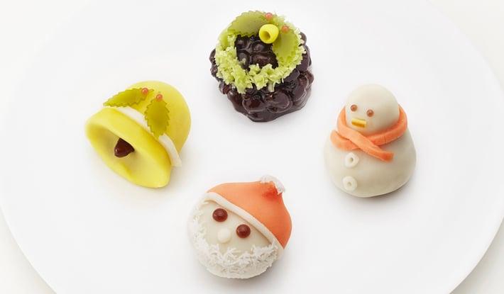 クリスマス限定上生菓子 12月15日(土)より店頭に並びます