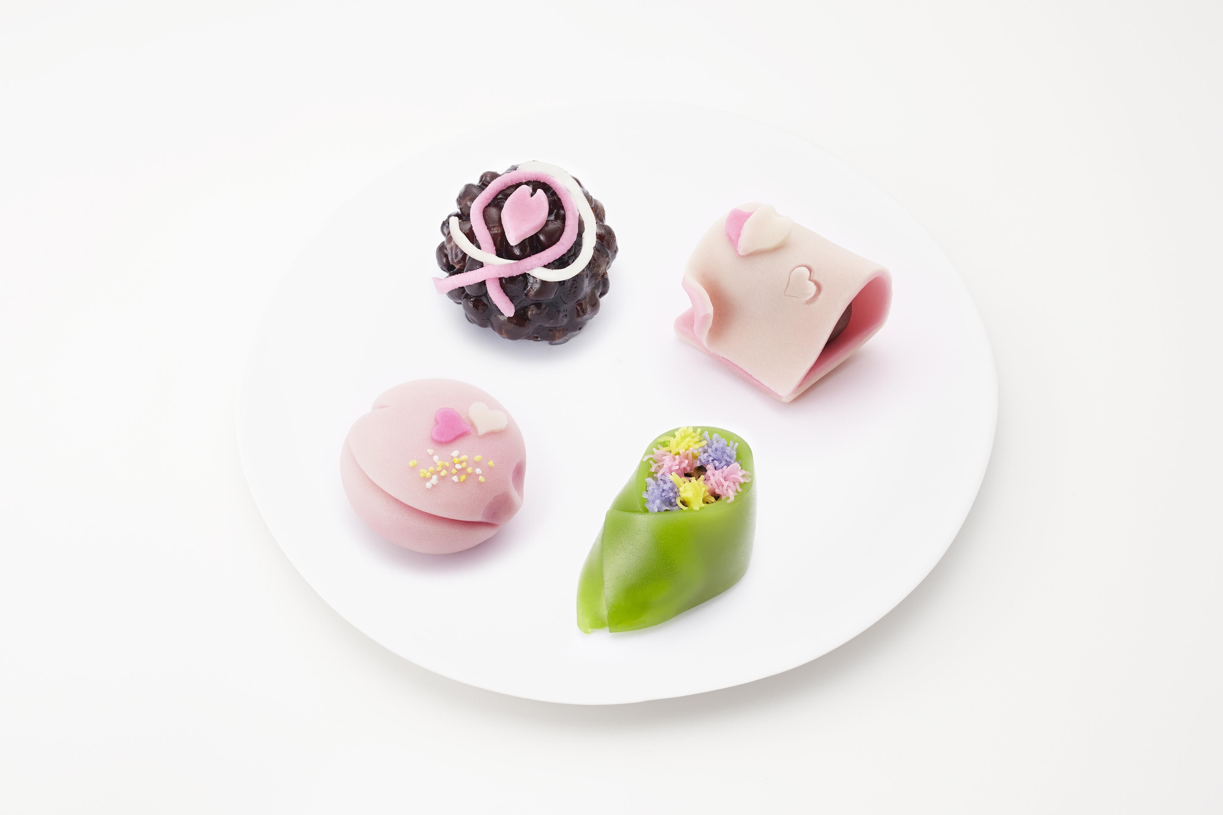 バレンタイン限定上生菓子 2月3日(金)より店頭に並びます